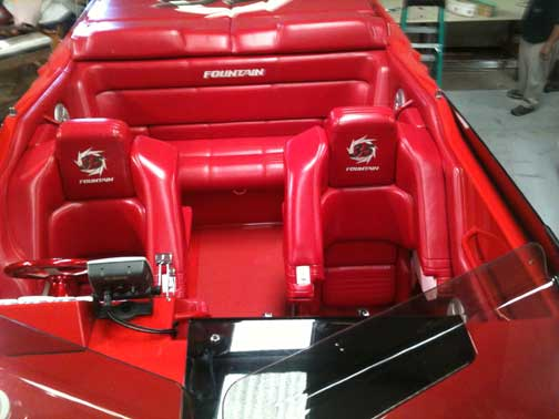 Custom Boat Covers Interior Upholstery Golf Car Enclosures